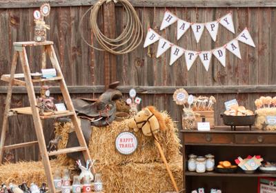 Cowboy Party Theme - Fabulous Party